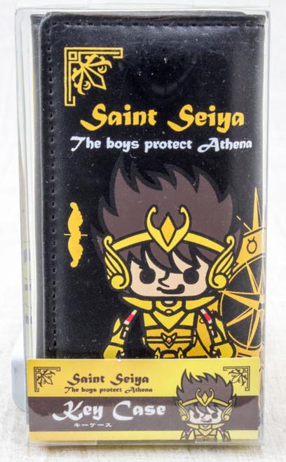 Saint Seiya Gold Sagittarius Seiya Panson Works Key Case JAPAN ANIME MANGA