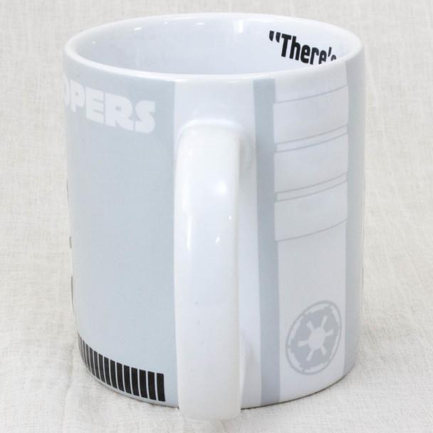 STAR WARS Stormtrooper Ceramic 2D Relief Mug Hot Toys ZEON MOVIE SF