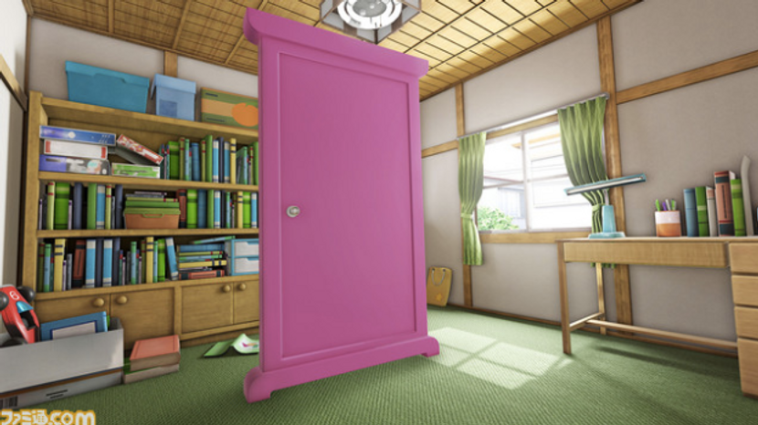 """Doraemon VR anywhere door!!  from """"VR ZONE Project i Can"""