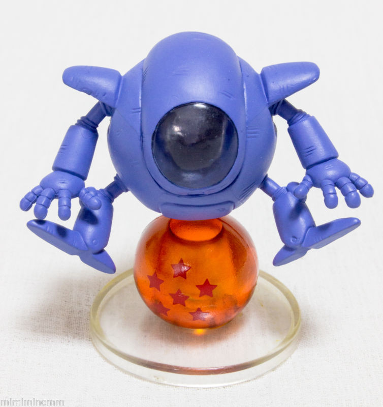 Dragon Ball Z Pilaf Robot Chara Puchi Mini Figure JAPAN