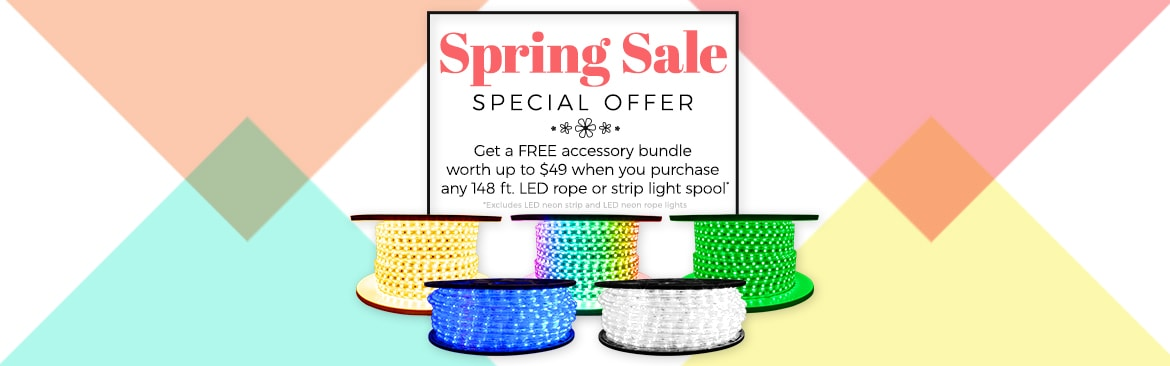 Buy a 148ft spool, receive $25+ in accessories free!