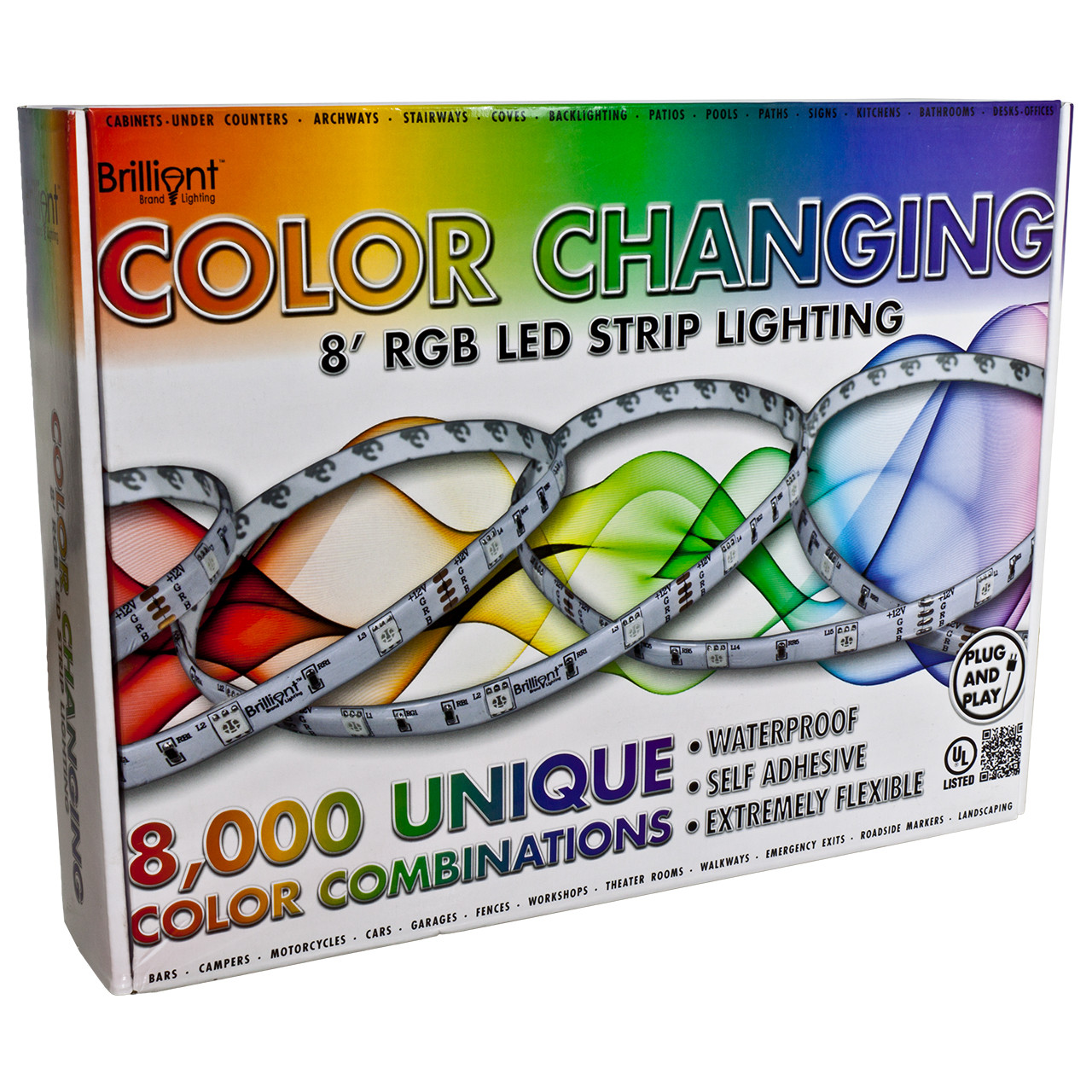 Rgb color changing led strip light 12 volt high output smd 5050 rgb color changing led strip light 12 volt high output smd 5050 mozeypictures Gallery
