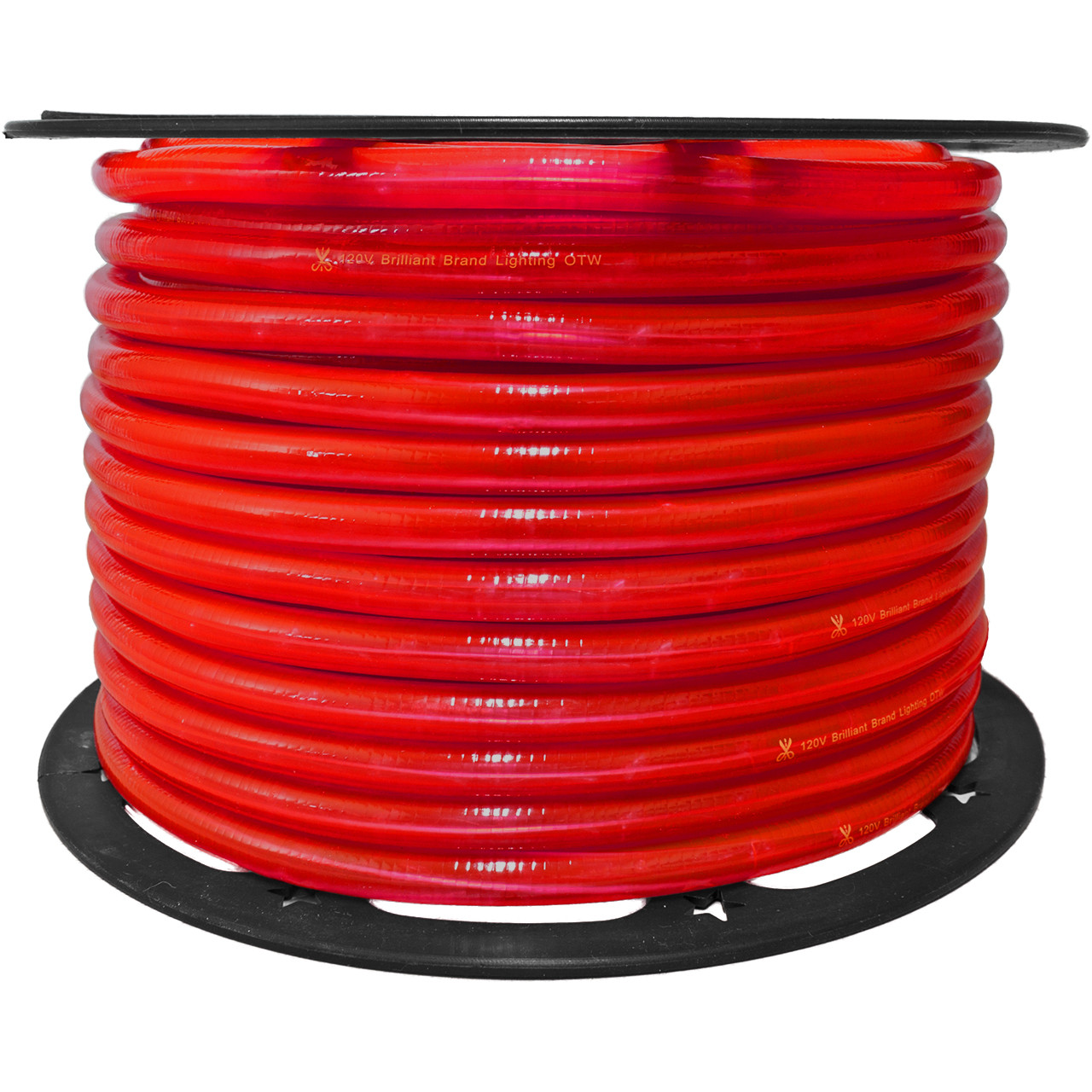 Red incandescent rope light 120 volt 12 inch 150 feet red incandescent rope light 120 volt 12 inch 150 feet aloadofball Choice Image