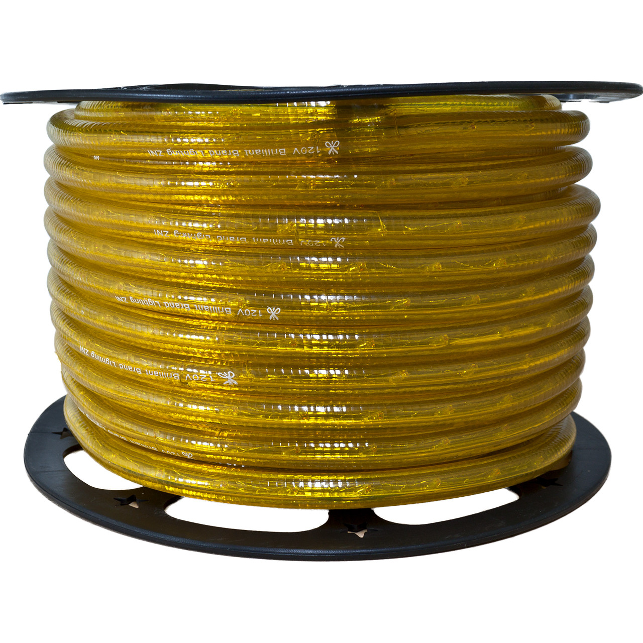 Yellow incandescent rope light 120 volt 38 inch 150 feet yellow incandescent rope light 120 volt 38 inch 150 feet mozeypictures Gallery
