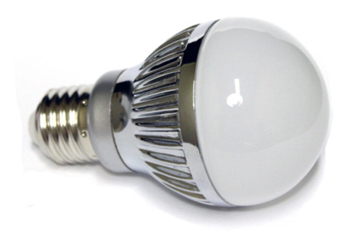 Pure White A19 5 Watt LED Light Bulb