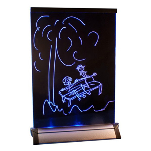 LED Color Changing Message Board 7.5 Inch X 10.5 Inch