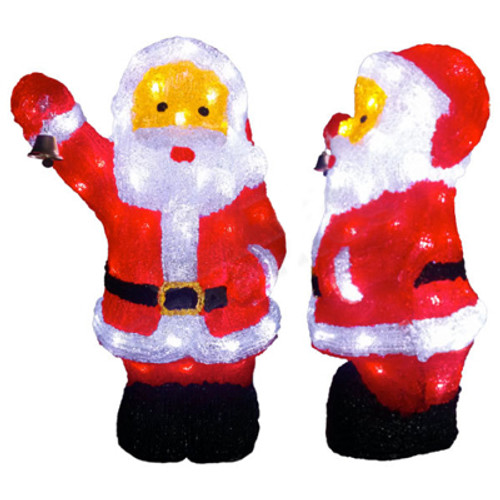 21 inch 3d led acrylic santa motif - 3d Acrylic Christmas Decorations