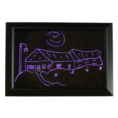 LED Color Changing Message Board 18 Inch X 25 Inch