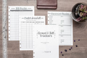 Account and Bill Tracker