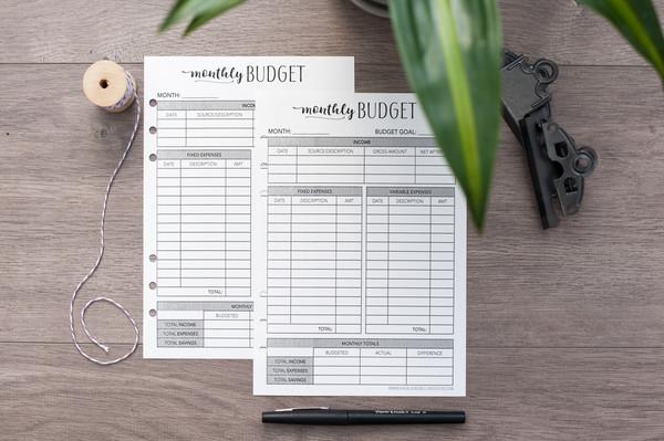 Home Finance - Refill Kit