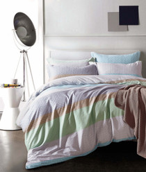 In 2 Linen Dream King Bed Quilt Cover Set