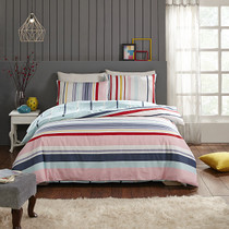 In 2 Linen Kaleidio Double Bed Quilt Cover Set