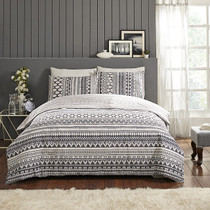 In 2 Linen Esta King Bed Quilt Cover Set