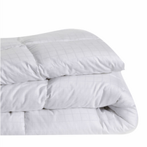 In 2 Linen Microfibre Queen Bed Quilt 400GSM | All seasons