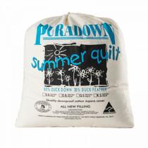Puradown Duck Down King Bed Quilt | Summer