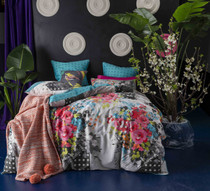 KAS Daylesford Multi King Bed Quilt Cover Set