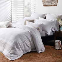 Private Collection Capri White Queen Bed Quilt Cover Set