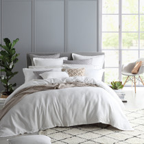 Private Collection Fitzroy White Queen Bed Quilt Cover Set