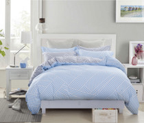 In 2 Linen Mark Single Bed Quilt Cover Set
