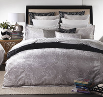 Florence Broadhurst Fingers Silver Super King Bed Quilt Cover Set