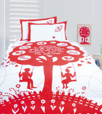 Happy Kids Bee Knees Double Bed Quilt Cover Set