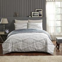 In 2 Linen Antigua Queen Bed Quilt Cover Set