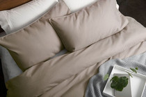 In 2 Linen Waffle Weave Queen Bed Quilt Cover Set | Linen