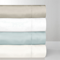 In 2 Linen 600TC Aegean Cotton Mega Queen Bed Sheet Set