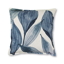 Madras Link Seed Pod Blue Cushion