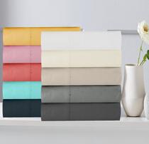 In 2 Linen 300TC Cotton Percale European Pillowcases | Assorted colours