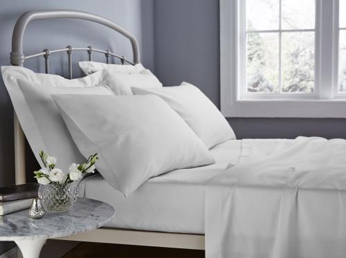 In 2 Linen 500TC Egyptian Cotton Mega Queen Bed Sheet Set | 50cm Wall