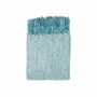 In 2 Linen Stanford Chenille Throw Rug   Turquoise