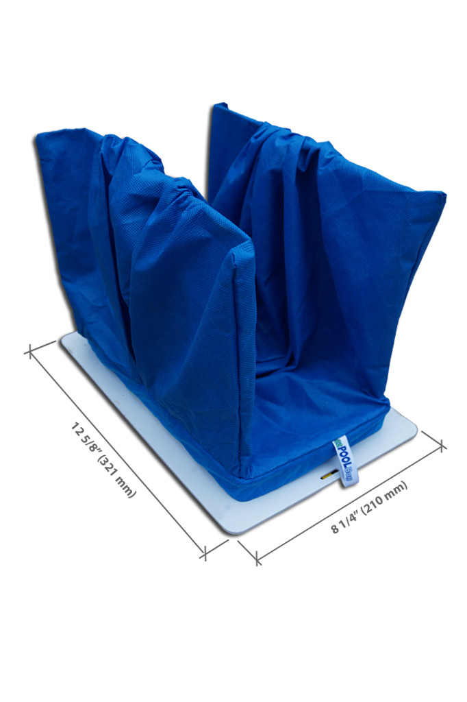 ezPOOLBag - disposable filter bag for automatic pool cleaners and pool cleaning robots