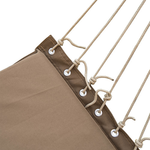 Lazy Daze Hammocks Hanging Rope Chair Cotton Padded Swing Chair Hammock  Seat With Cup Holder,Footrestu0026Hardware ...