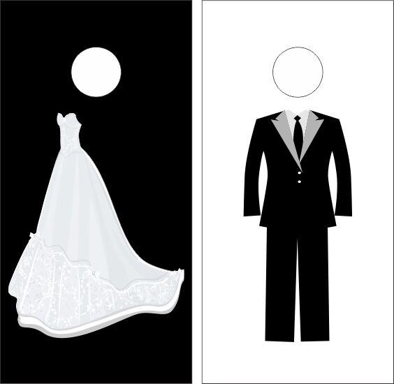 Wedding Cornhole Boards