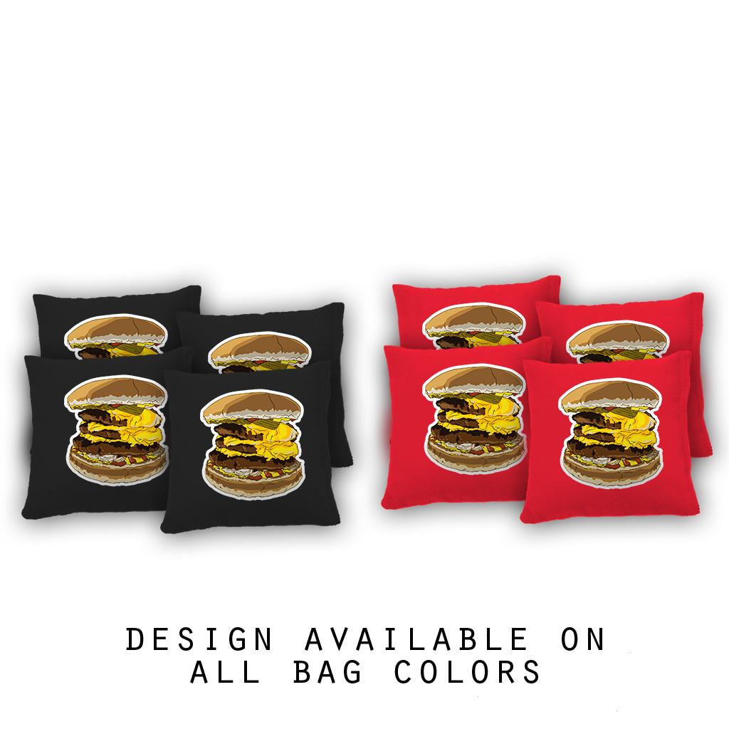 Food Themed Cornhole Bags