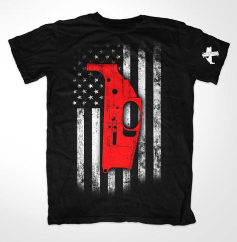 Noreen Firearms Proud American T-Shirt