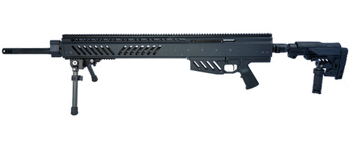 Noreen BN408 with folding stock left