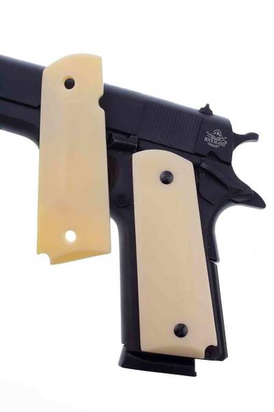 GG1911AIV 1911 Gun Grips Acrylic Ivory