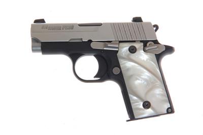 SIG SAUER P238 Acrylic Pearl Gun Grips plus 4 SIG OEM Screws