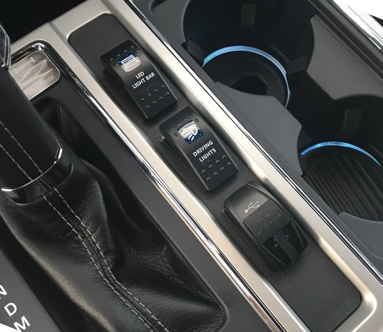 Center Console Switch Panel for 2015+ Ford F-150 ...