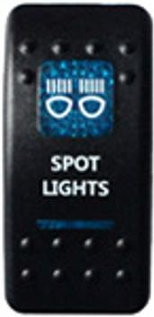 Spot Lights Rocker Switch (Blue)