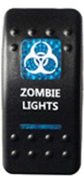 Zombie Lights Rocker Switch (Blue)