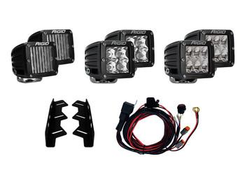 Rigid Industries 2017+ Raptor Triple Fog Light Kit