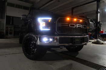 CrystaLux LED Projector Fog Lights for 2015+ Ford F150 (v2.0)