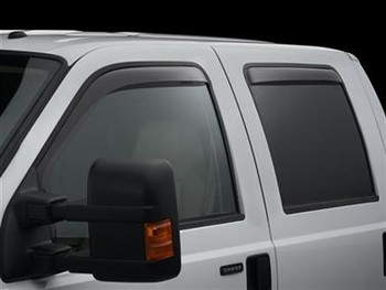 WeatherTech Ford 2015 F-150 Side Window Deflectors - In-Window-Channel