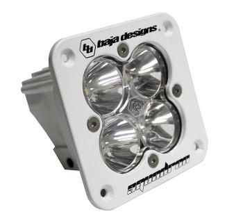 Baja Designs Squadron Pro, Flush Mount, White, LED Spot