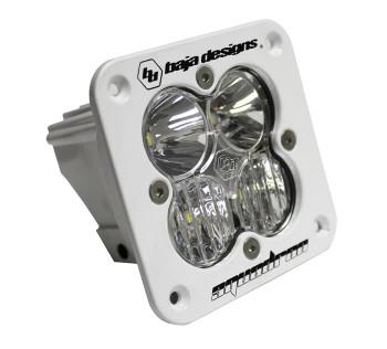 Baja Designs Squadron Pro, Flush Mount, White, LED Driving/Combo