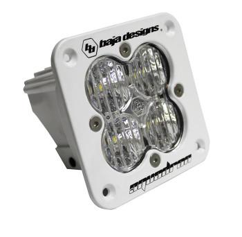 Baja Designs Squadron Pro, Flush Mount, White, LED Wide Cornering