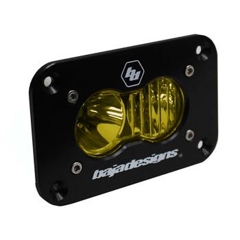 Baja Designs S2 Sport, Flush Mount, LED Driving/Combo, Amber
